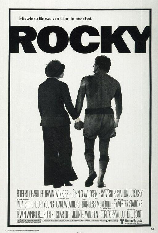 Rocky And Adrian Movie Poster Rocky And Adrian Balboa