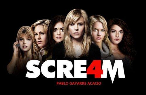 RELEASE DATE: April 15, 2011 MOVIE TITLE: Scream 4 or scre4m Stock ...