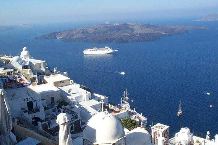 Greek Islands Images Santorini Wallpaper And Background Photos