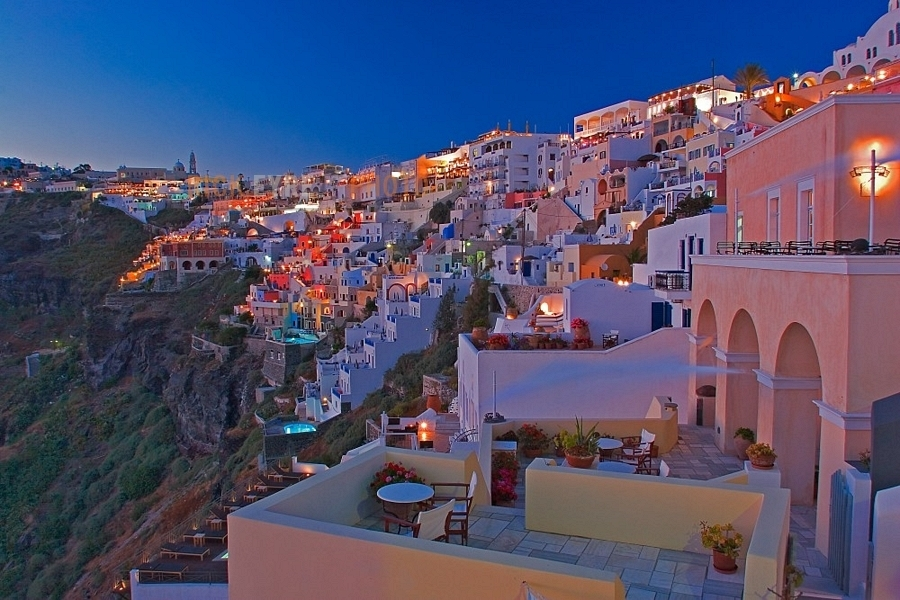 wallpaper santorini greece island - photo #37