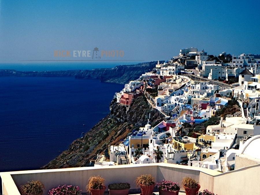 wallpaper santorini greece island - photo #19