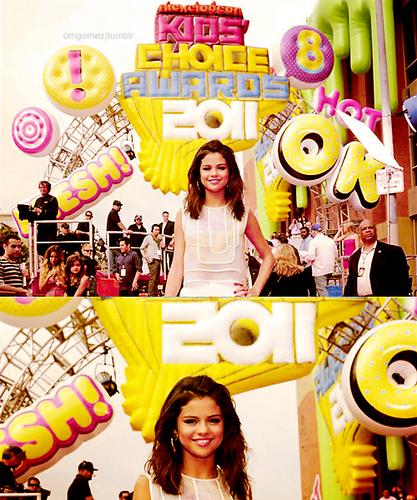 Selena Gomez at the KCAs 2011