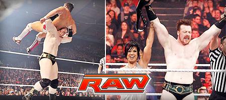 Sheamus 03/28/11 Raw