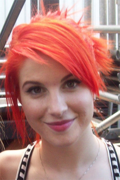 hayley williams hair decode. hayley williams hair orange.