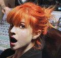 Solid Orange Hair