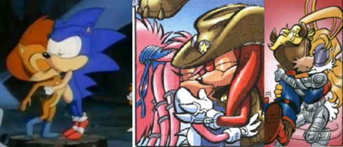 Sonic Couples' Kiss <3