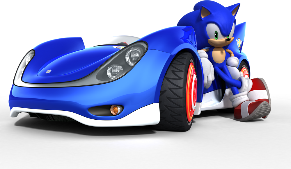 Sonic And His Car Sonic The Hedgehog Photo 20616840