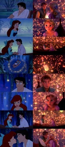 tangled / The Little Mermaid