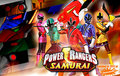 The Power Rangers Samurai Team