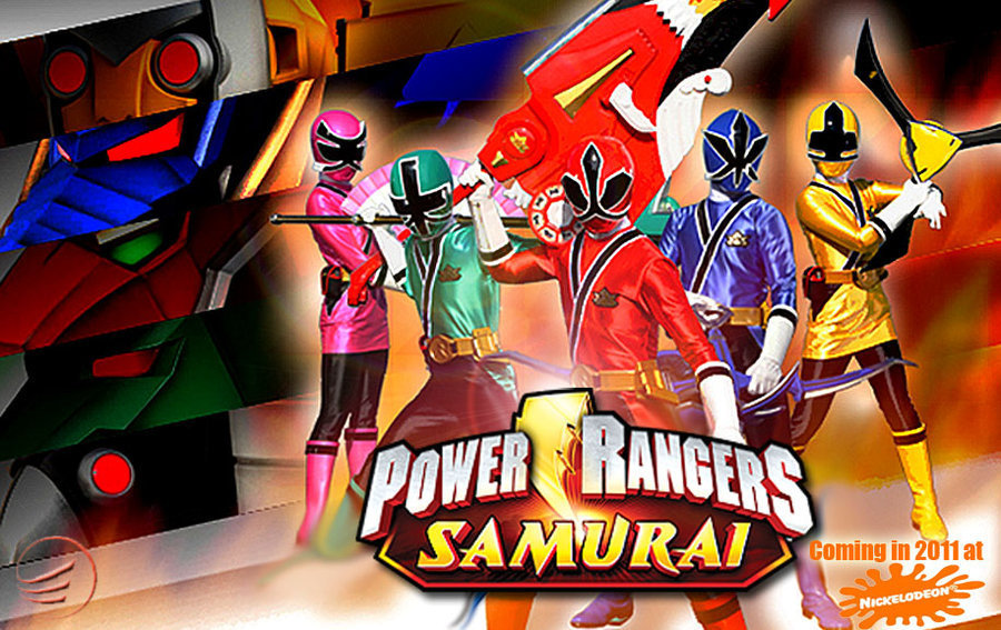Pawer Ranger Samurai Cartoon