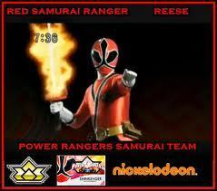The Red Ranger - power-rangers-samurai Photo