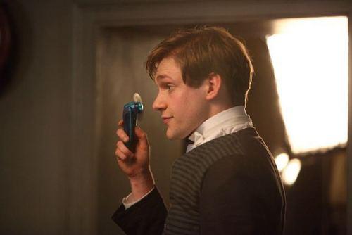 Thomas Howe (William Mason) filming series 1