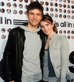 Thomas &amp; Lisa Mller adidas is all in Premiere Germany - thomas-muller photo