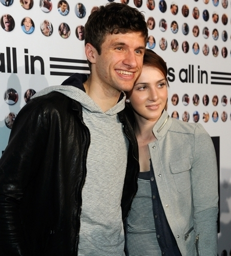 Thomas & Lisa Müller adidas is all in Premiere Germany