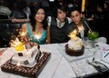 Tinsel Korey, Kiowa Gordon & Bronson Pelletier Celebrate In Las Vegas! - twilight-series photo