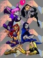 Titan Girls - teen-titans photo