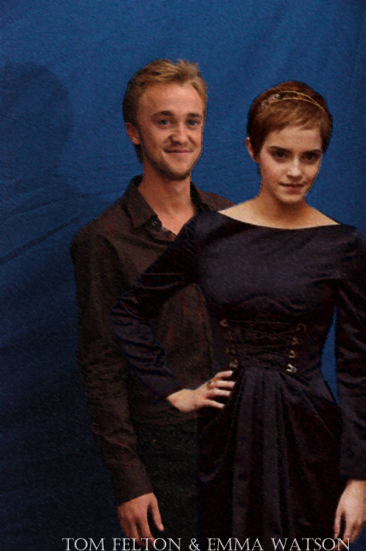 tom felton and emma watson love. Tom Felton and Emma Watson