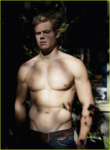Trevor Donovan: Shirtless for 'Da Man' Magazine