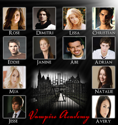 Vampire Academy Dream Cast - vampire-academy Fan Art
