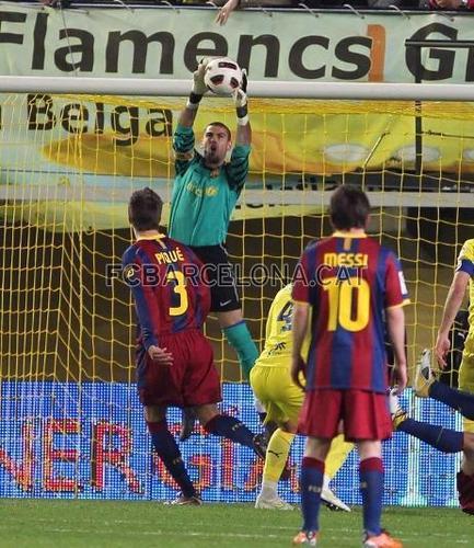 Villarreal vs Barcelona la liga week 30