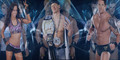 Wade Barrett-AJ Lee-John Cena