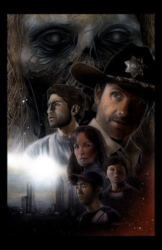 Walking Dead Poster Art