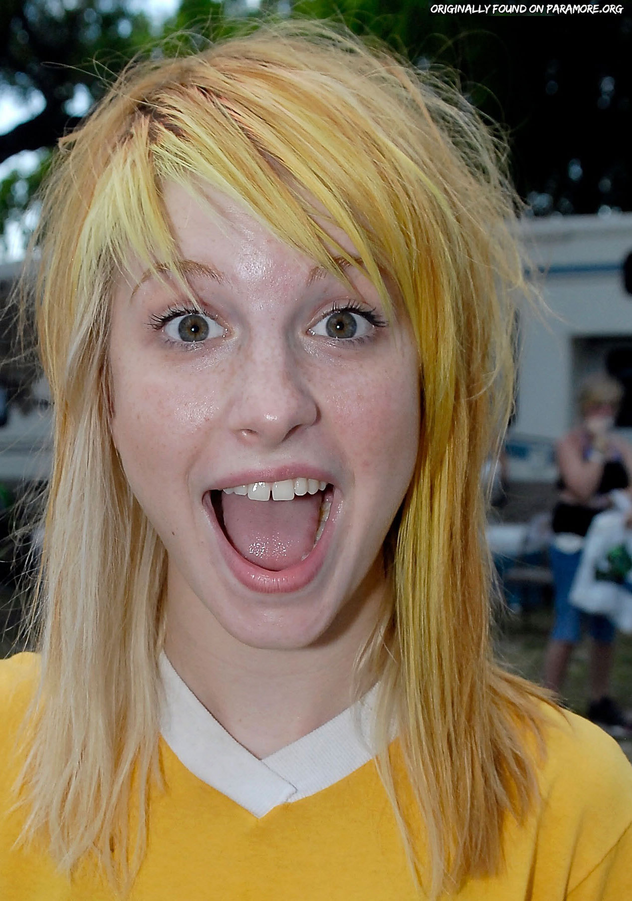 Yellow Blonde Hair Hayley William S Hair Photo 20600279