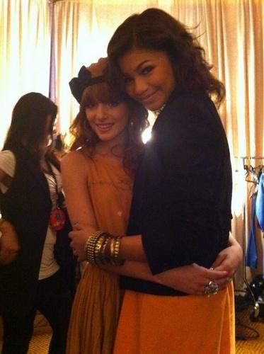 Zendaya and Bella