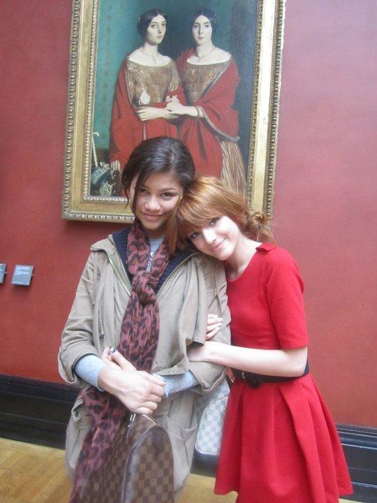 pictures of zendaya and bella. Zendaya and Bella