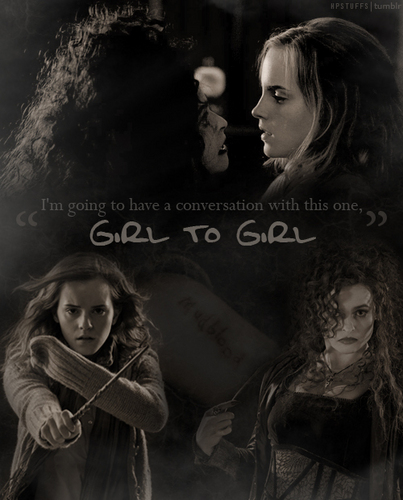 a little chat, girl to girl