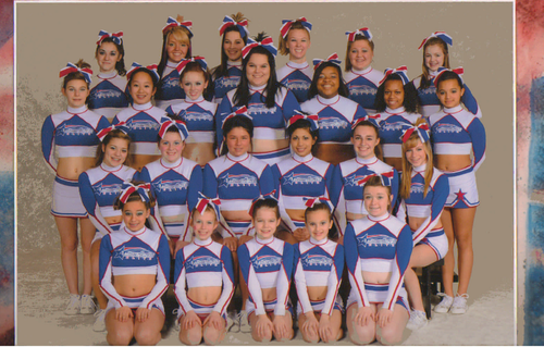 american elite allstars of ohio - large senior level 2 - HOLLYWOOD < 3