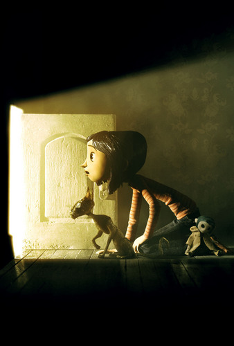 Coraline 壁紙 with a sign and a living room entitled coraline