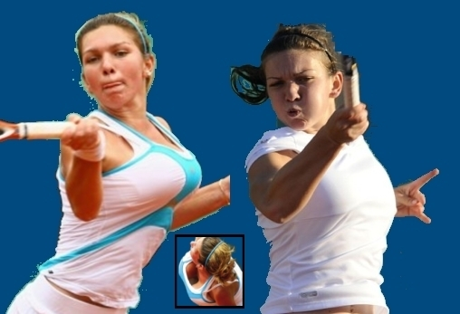 Does not simona halep naked breast