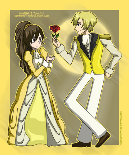haruhi and host members