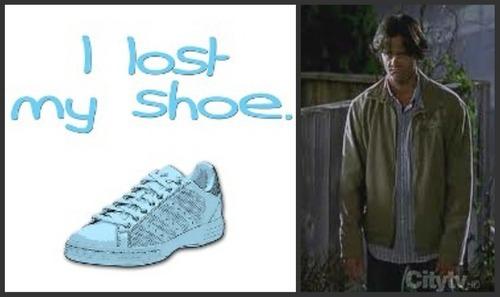 i Nawawala my shoe