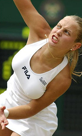tennis wallpaper possibly with a tennis player and a tennis pro called jelena dokic breast
