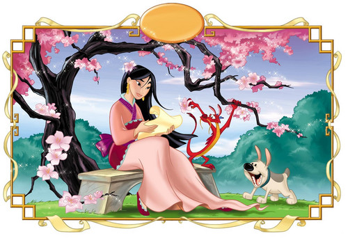 Mulan wallpaper possibly with anime titled mulan