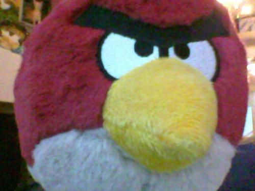 my angry birds soft toy