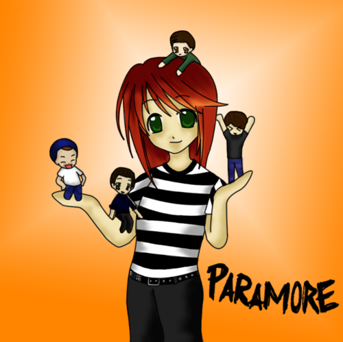 Paramore Fanaticz wallpaper containing anime entitled paramore anime