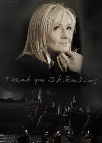 thank you JK Rowling