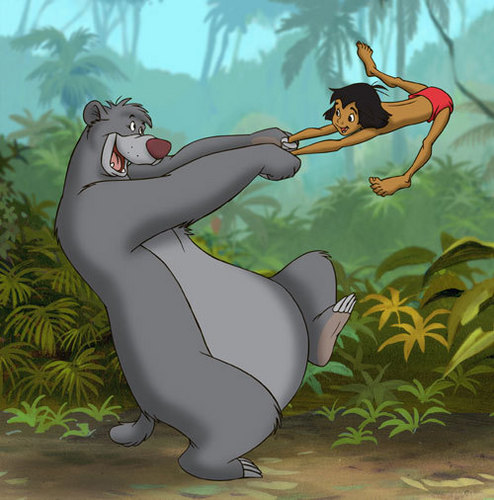 The Jungle Book fondo de pantalla possibly with anime titled tjb
