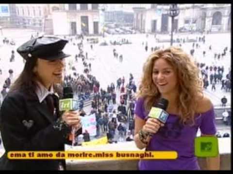 Intervista di Shakira (& Miky) @ TRL Italia