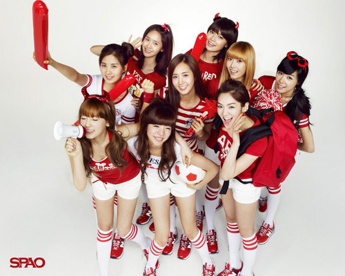 ♥SNSD SPAO World Cup♥