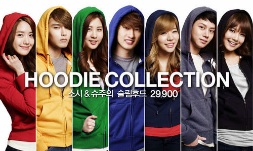 Super Generation: Super Junior & Girls' Generation wallpaper probably containing a portrait entitled ♥SNSD and Super Junior – SPAO♥
