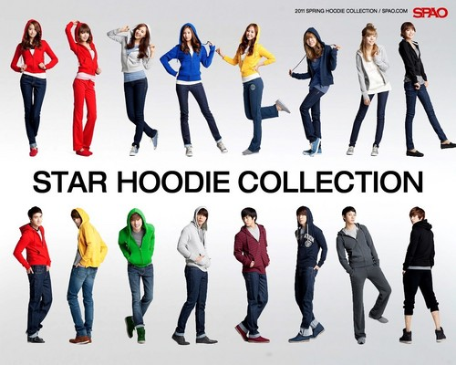 ♥SNSD and Super Junior – SPAO♥ - super-generation-super-junior-and-girls-generation Photo