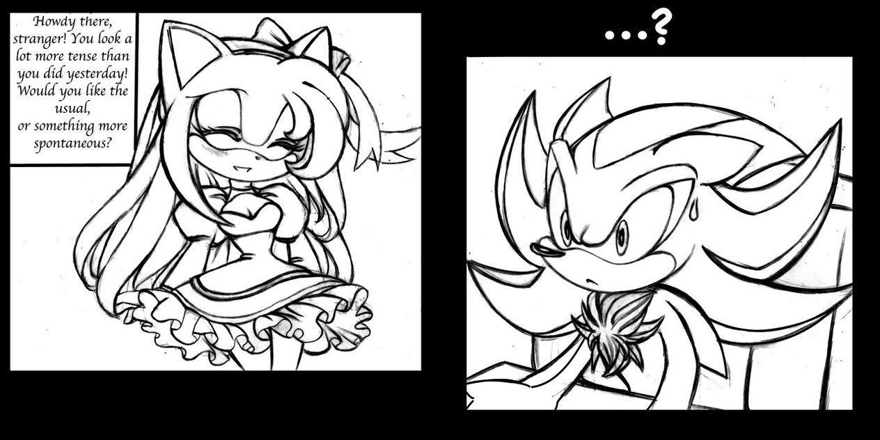 Increíble La Página De Sonic The Hedgehog Para Colorear Foto ...