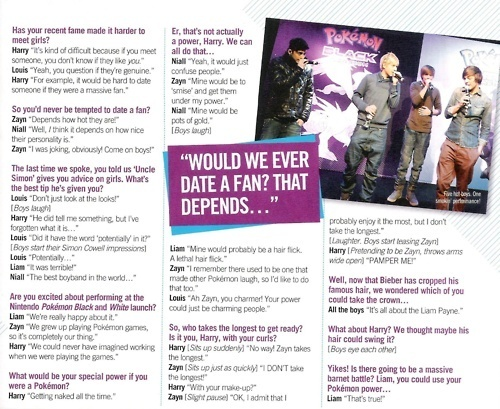 1D = Heartthrobs (I Ave Enternal Cinta 4 1D & Always Will) Bliss Interview! 100% Real :) x