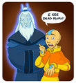 Aang see dead people