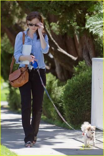 Alexis Bledel: Studio City Stroll