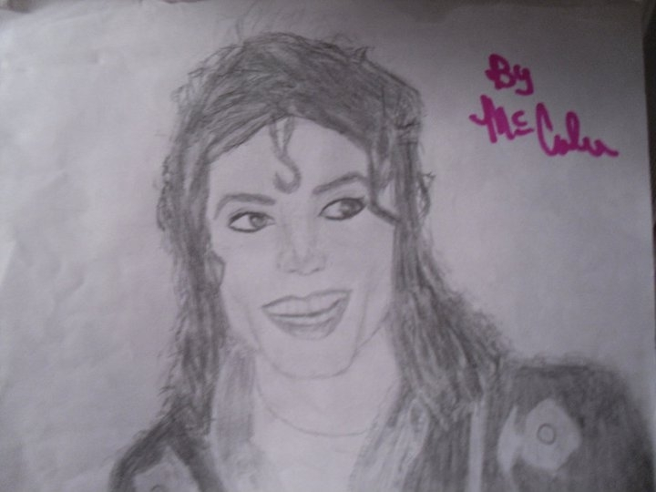An MJ drawing I drew for MJGangster <3 :)